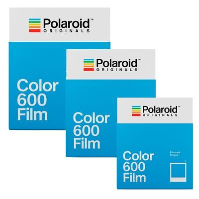 Polaroid  600 Color Film für Polaroid 600 Kameras  NEU  3 Filme