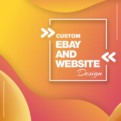 Custom Ebay Store And Listing Template Design Amazon Or A Website Design
