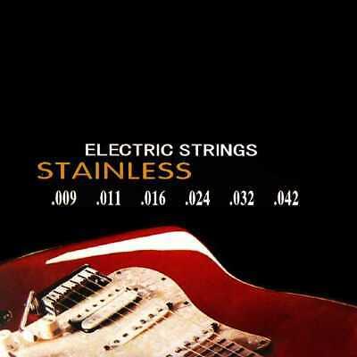 Lote Cuerdas para Guitarra Electrica Nickelplated Steel 350L Guitar Metal M04