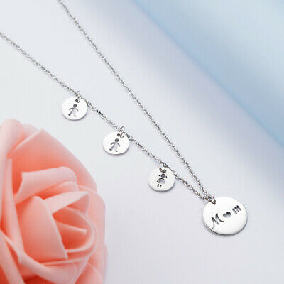 Mother Necklace Daughter Son Birthday Gift For MOM Christmas Present Family ()