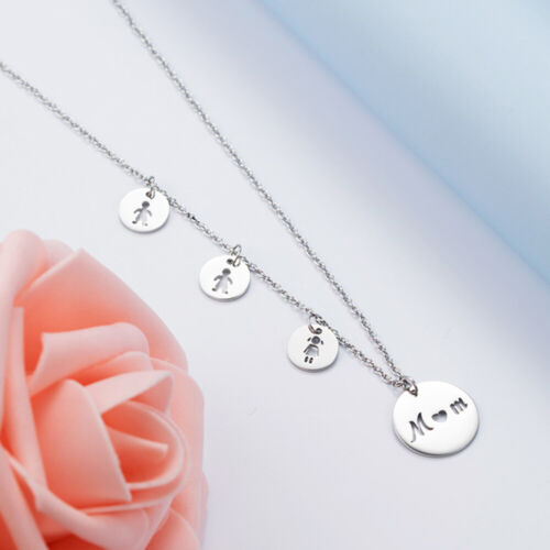 Mother Necklace Daughter Son Birthday Gift For MOM Christmas