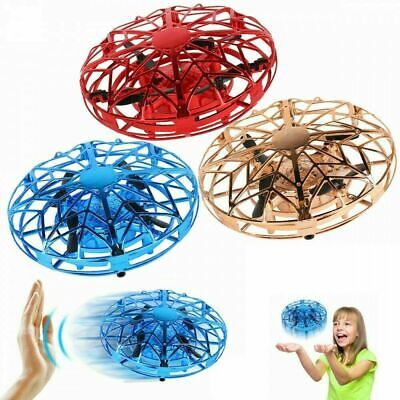 Mini Drone for Kids Adults  Hand Controlled Quadcopter Light Up Flying Toys