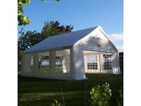 6m x 6m Gala Tent Garden Party Wedding Marquee Original (PE)