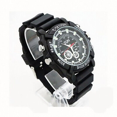 Waterproof 32GB Night Vision HD 1080P Spy Hidden Watch Video Recorder Camera NEW for sale  USA