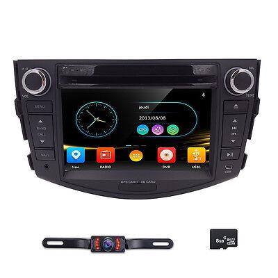 "7"" Car Radio DVD CD Player Stereo GPS Navi Headunit for TOYOTA RAV4 2006-2011"
