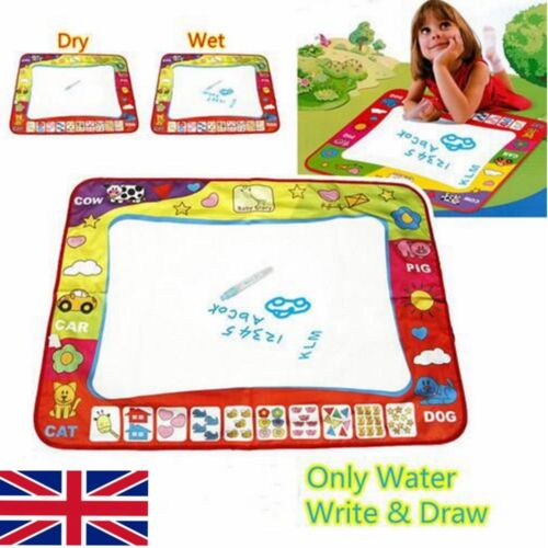 Aquadoodle Water Drawing Large Mat includes Pens Aquadraw Water Drawing Mat KIDS