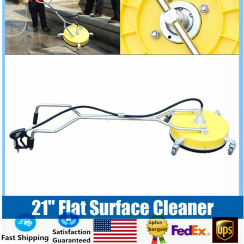 21inch Stainless Steel Large Surface Cleaner High Pressure Cleaner 2000-4000 PSI