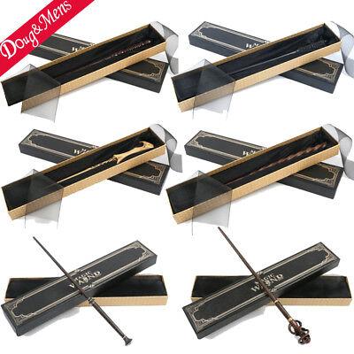 Harry Potter Magic Stick Metal Core Magic Wand Black Gift Box Cosplay Props Toys - Prop Sticks