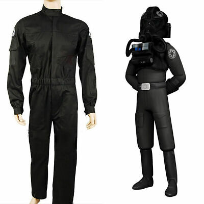 Star Wars Imperial Tie Fighter Pilot Flight Suit Cosplay Costume](Star Wars Tie Fighter Pilot Costume)