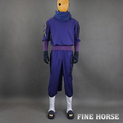 Naruto Obito Tobi Uchiha Madara mit Maske Cosplay - Tobi Cosplay Kostüm