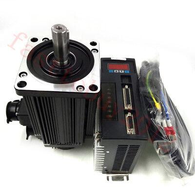 3axis 4nm 1.2kw Ac Servo Motor Drive Nema42 3000rmin 220v Material Conveying