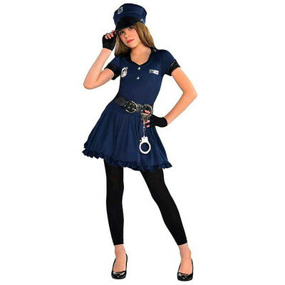 Cop Cutie Police Officer Girls Child - Police Officer Costume For Girls