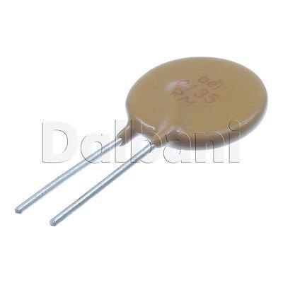 10pcs 1.4 0zrm0135ff1a Polyswitch Resettable Fuse 1.35a 120v 2 Pin Ptc