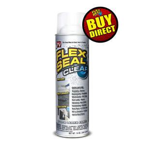 Flex Seal Clear Jumbo Can Liquid Rubber Spray Sealant Coating 14 oz BUY DIRECT!
