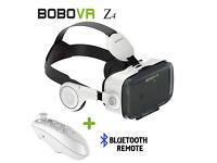 BOBO Z4 VR with Remote - 3D Movie VR Box Headset