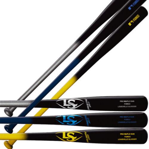"Louisville Slugger Wood 35"" Maple Fungo Bat S345 Model WBL24430"