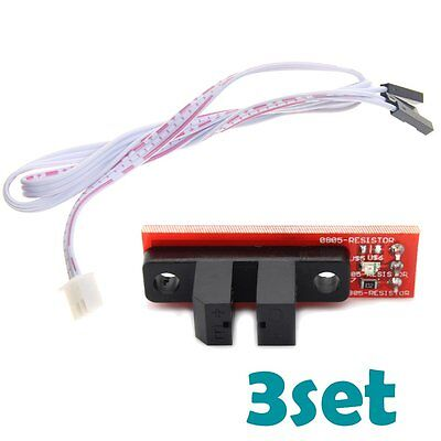 3x Optical Endstop Switch Reprap Mendel Prusa Ramps 1.4 For 3d Printer Arduino