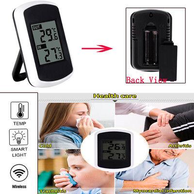Deskstop Digital LCD Wireless Indoor/Outdoor Weather Station &Sensor -