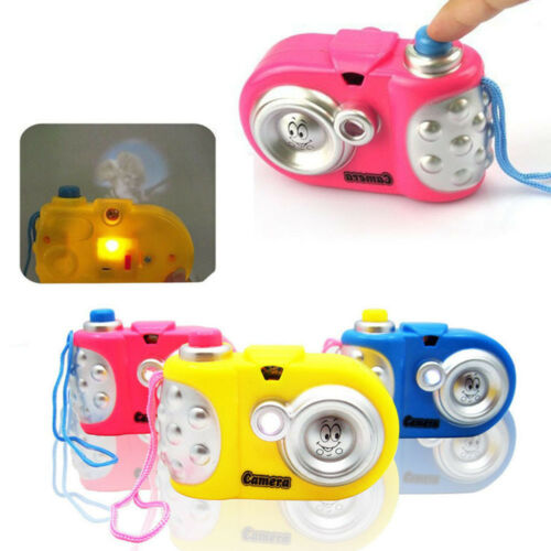 Baby Kids Study Toy Cartoon Projection Educational Camera Children Toys curious