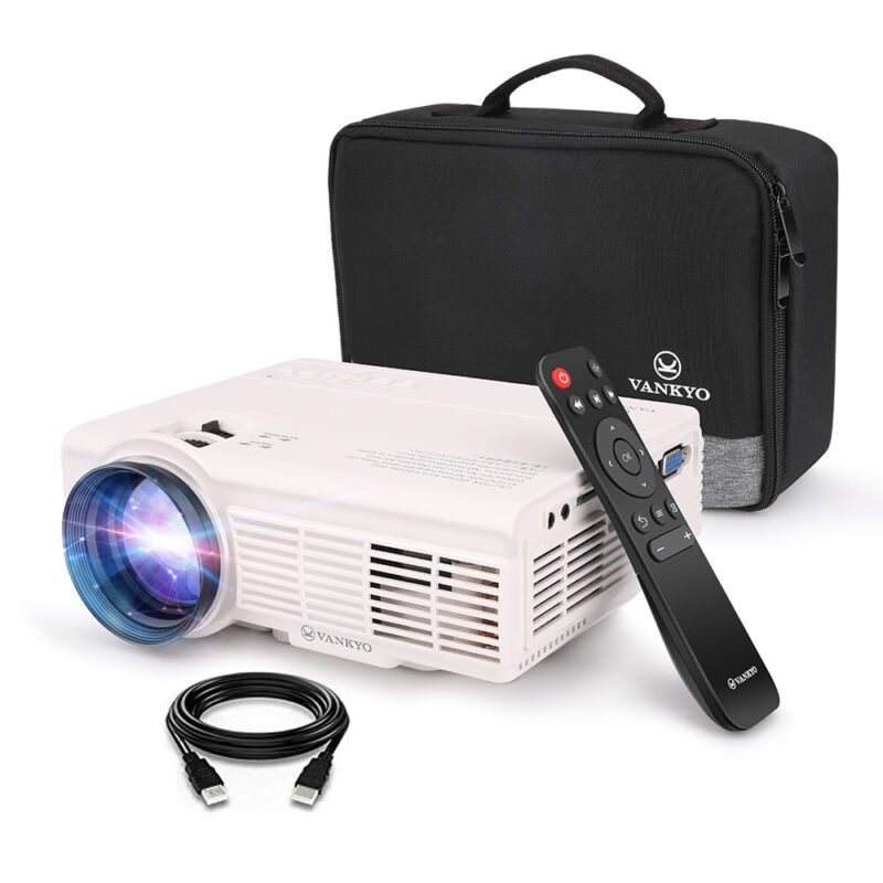 VANKYO LEISURE 3 1080P Mini Projector FHD Video Movie Home Theater 170