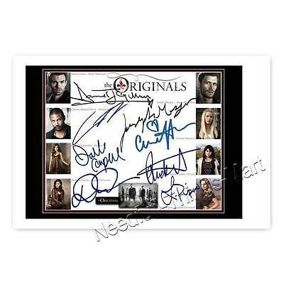 The Originals Cast - Joseph Morgan, Daniel Gilles- 8fach signierts Autogramm 