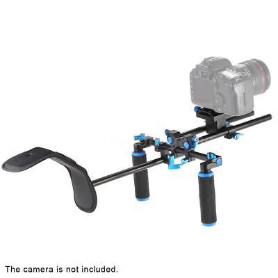 DSLR DV Video Camera Handy Rig Shoulder Mount Steadycam Stabilizer Hand Grip Kit
