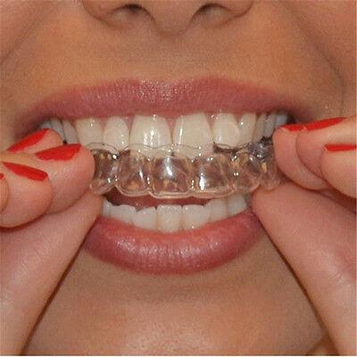2 Stücke Thermoforming Zahnschutz Zähne Bleaching Trays Bleichen Mundhygiene