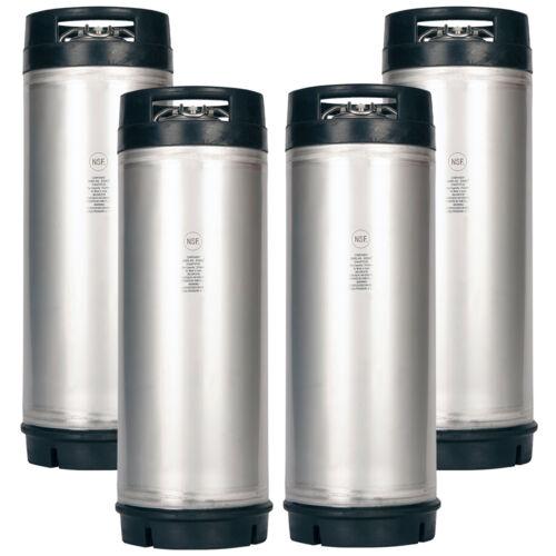 4 Pack New 5 Gallon Ball Lock Kegs AMCYL - Homebrew Beer - Soda - Free Shipping!