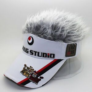Golf Cap Fake Hair 33