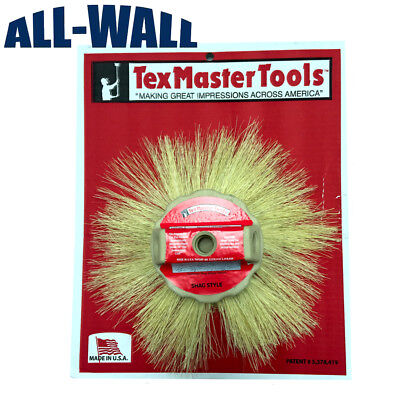 Texmaster 12 Tampico Shag Style Stipple Brush For Drywall Texture 8804 New