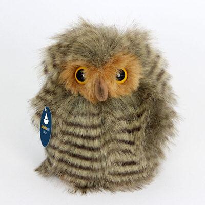 Stofftier Eule, Eulenbaby Vogel, Kuscheltier, Plüschtier, Plüsch (Höhe ca. 14cm)