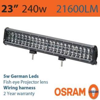 "23"" 240w (21600LM) OSRAM Led Lightbar (2 year waranty) Craigie Joondalup Area Preview"