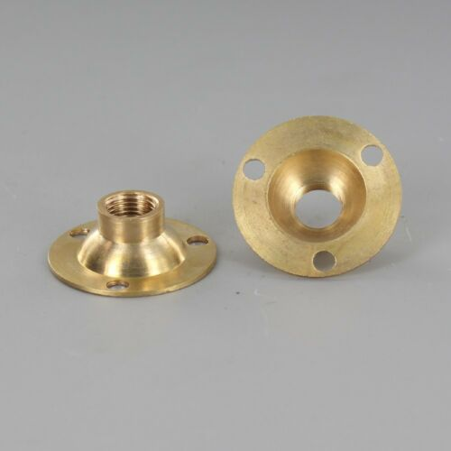 BRASS FLANGE ~ 1/8 IPS Threaded Center Hole ~ #YB12