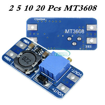 Mt3608 Dc-dc Step Up Power Apply Module Booster Power Module 2a 28v For Arduino