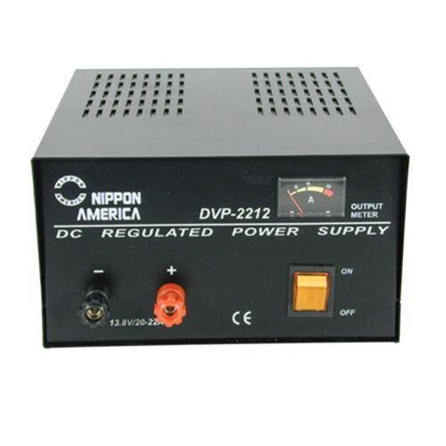 Nippon America DC Power Supply 20 Amp 110V ( DVP-2212 )