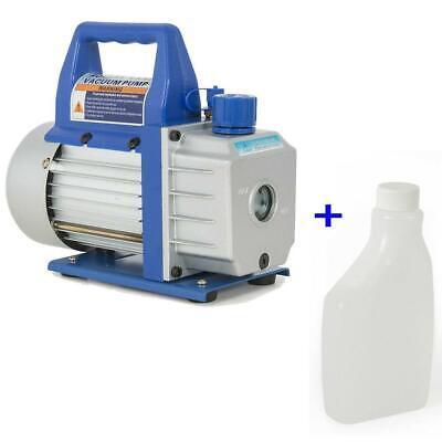 3cfm 110v 14hp Electric Vacuum Pump Refrigerant Hvac Deep Vane 1720 Rpm R410a