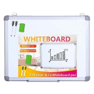 Viz-pro Magnetic Dry Erase Board Wall Hanging Whiteboard Student Writing Board