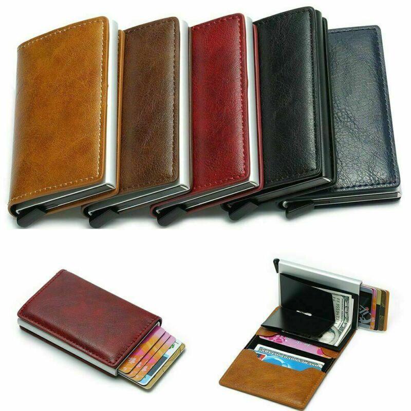RFID Geldbörse Damen Herren Portemonnaie Kartenetui Schutzhülle Schutz