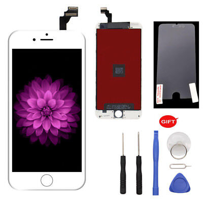 For iPhone 6 Plus White Touch Screen Digitizer LCD Display Repairing Part