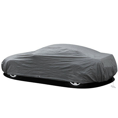 2 Layer Economy Indoor Car Cover Outdoor Solar Dust UV Ray for SUV Protection
