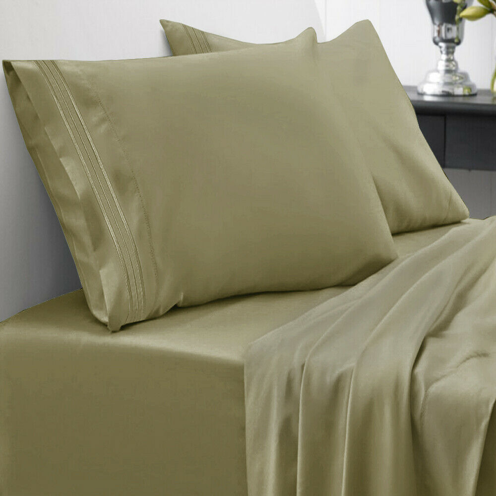 Sweet Home Collection Queen Size 1500 Thread Count Sheet Set