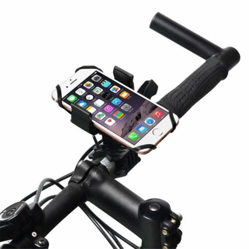 Universal Adjustable CELL PHONE HOLDER Motorcycle Bike Bicycle Handlebar Mount 2 Cell Phone Accessories