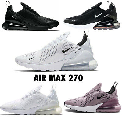 Men Women Air Max-270 Running Shoes Sports Trainers Sneakers Shoes Size UK 6-10