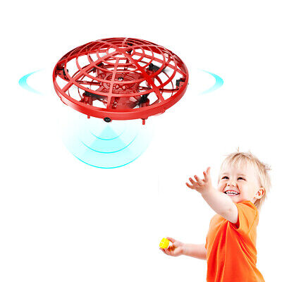 Mini Drone Quad Induction Levitation UFO LED Light Toy for kids New Gift for kid