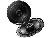 "PIONEER TS-G1732i 6.5"" 17cm 2-Way Coaxial Car Audio Speakers 240 Watt for Door, Rear Shelf, Boot"