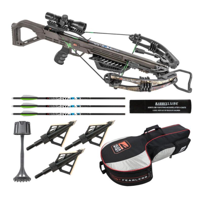 Killer Instinct Lethal 405 FPS Crossbow Essentials Bundle