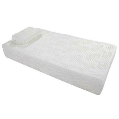 """10"""" Inch Twin Size COOL Medium-Firm Memory Mattress 2 FREE Pillows + Cover US"""