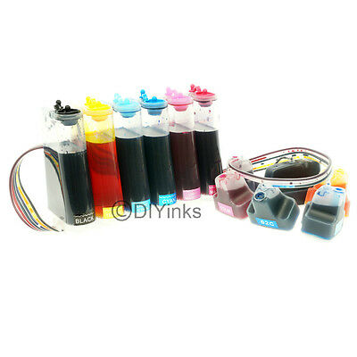 Cisinks Ink Supply System Ciss For Hp 02 C7180 C7250 C727...