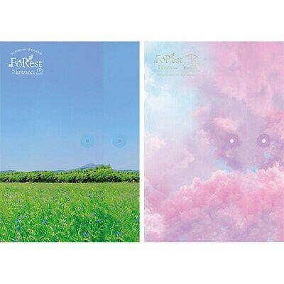 SEO EUNKWANG BTOB 1st Mini Album [FoRest:Entrance] 2Ver SET CD+Book+Card+B.Mark