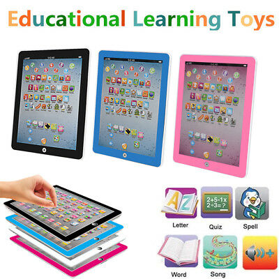 Kids Children TABLET MINI PAD Educational Learning Toys Gift For Boys Girls - Educational Toys For Boys